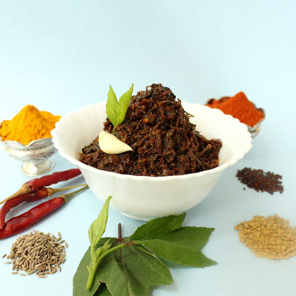Gongura Pickle Andhra Style